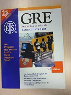 GRE: Practicing to Take the General Test: Big Book by Educational Testing Service (1995-10-01)
