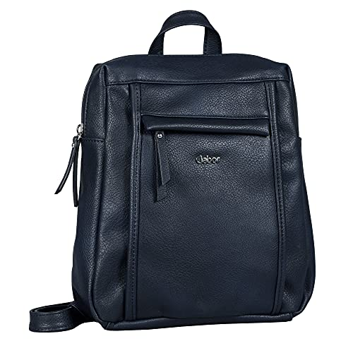 Gabor bags MINA Damen Rucksack M, blue, 24x14x31
