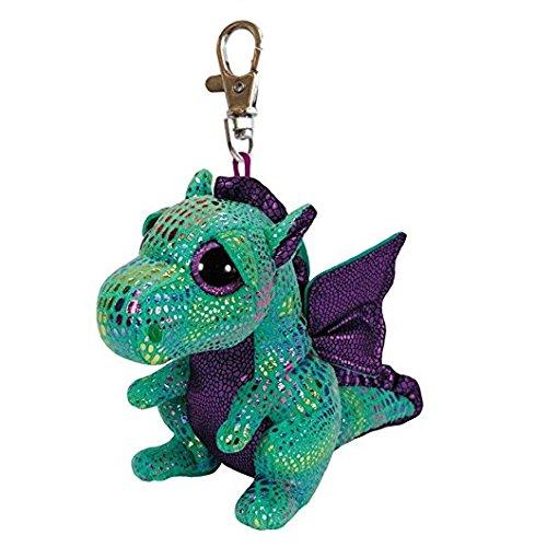 Carletto Ty 36637 Cinder Dragon Plüschclip, Mehrfarbig