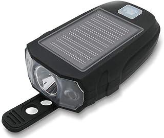 Dixinla Luz de Bicicleta Luz Carga USB Destacar Paseo luz Bicicleta luz Impermeable de la luz Fuerte Carga Frontal Conjuntos de faros delanteros y traseros