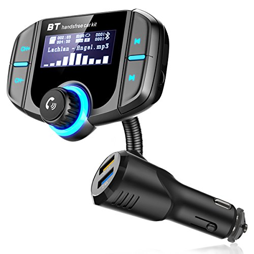 RBNANA Transmetteur FM Bluetooth, Transmetteur FM