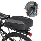 Fesjoy 2-in-1 Fahrradkoffer Bag Casual Chest Sling Pack Bag Fahrradträger Gepäckträger...