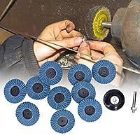 研磨ホイールセット、金属加工用ダイカストワーク用の80グリットヘビーデューティ研磨ホイール50mm / 2in