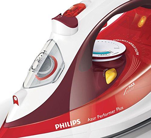 Philips Azur Performer Plus GC4516/40 – Plancha de vapor, 2400W,