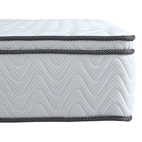 Arensberger ® Viktoria Taschenfederkern Matratze, 140 x 200 x 25 cm, mit integriertem Topper