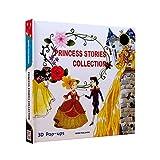 YUY Princess Story Collection Libro Hadas Emergente En 3D Sorpresa Educación Temprana Inglés Completo 3 Temas (Blancanieves Cenicienta Lechuga)