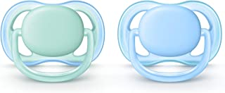 Philips Avent Ultra Air Pacifier, 0-6 months, blue/green, 2 pack, SCF244/20