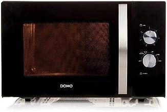 DOMO DO2431-Micro-ondes monofonction noir-30 L-900 W-Pose libre