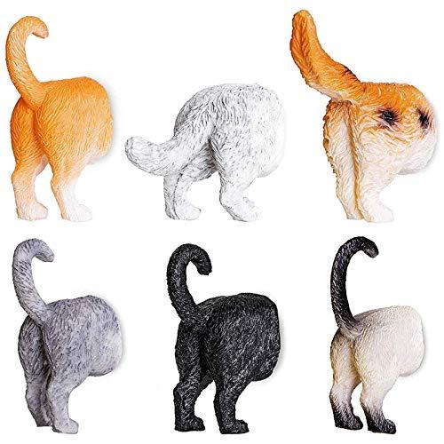 YWZQ Juego de 6 imanes para nevera, diseño de gato