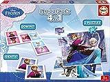 Educa - 16144 - Jeu éducatif et puzzles - Superpack 4 en 1 - La Reine des Neiges