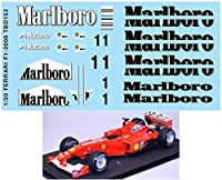デカール 1/20 FERRARI F1-2000 F2000 DECALS TB DECAL TBD152