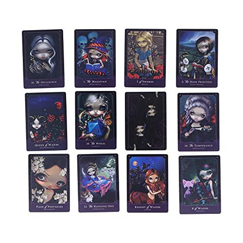 Kudoo Cartas del Tarot - Baraja de Cartas de Tarot Clásica Cartas de Adivinación con Libro Guía, Jeux de Carte Tarots Divinatoires para Principiantes (Versión Inglesa)