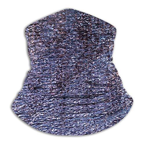 Custom made Pañuelo de microfibra iridiscente para hombres y mujeres, calentador de cuello de microfibra, cubrebocas elásticas, media máscara, bufanda, diadema, diadema, bandana
