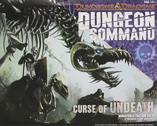 Dungeon dragons - C-1827A - Command Curse Of Undeath - pack jeux avec figurines