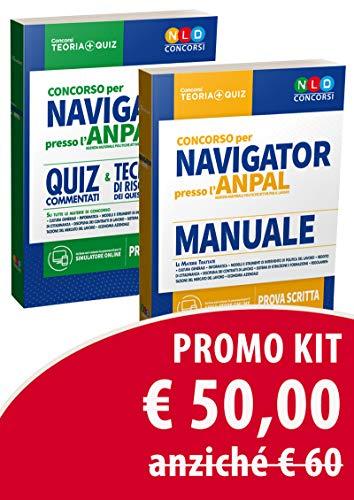 Kit concorso per Navigator presso l'ANPAL. Manuale-Quiz commentati e tecniche di risoluzione dei quesiti di logica