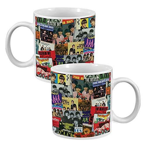 Vandor The Beatles - Singles Collection - 20 oz. Ceramic Mug, multicolor