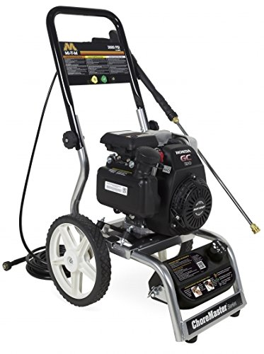 Sale!! Mi-T-M CM-3000-4MHC Choremaster Series Horizontal Pressure Washer, Gasoline Direct Drive, 187...
