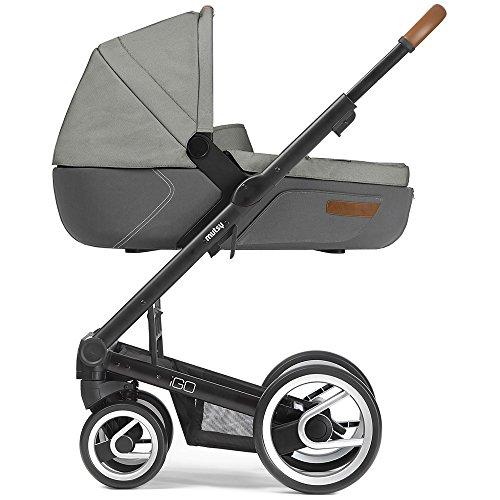 Mutsy Kinderwagen IGO - Urban Nomad white&grey / black - Modell 2016