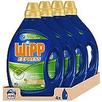 Wipp Express Detergente Líquido Anti-Olores 30 Lavados - Pack de 4, Total: 120 Lavados