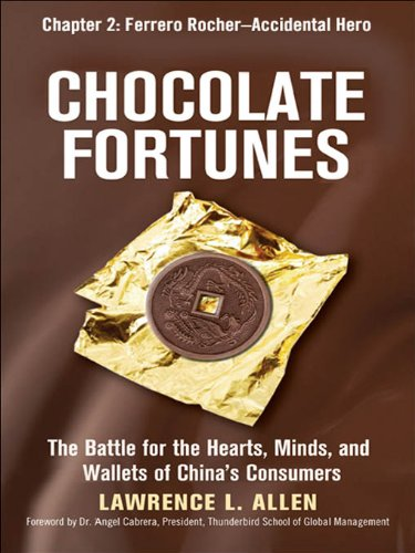 Chocolate Fortunes, Chapter 2: Ferrero Rocher, Accidental Hero (English Edition)