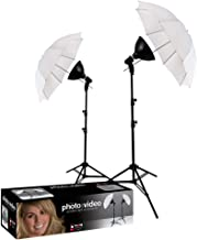 Photo Basics 406 uLite 2 Light Umbrella Kit (Renewed)