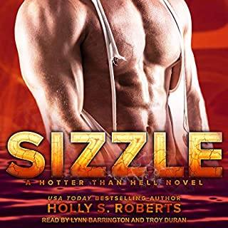 Sizzle audiobook cover art