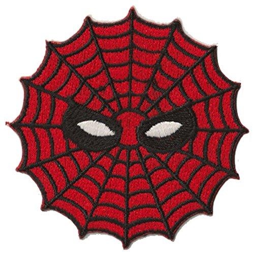 PATCHE escudo termoadhesiva Spiderman ojos