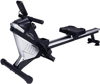 دستگاه قایق ربایی مغناطیسی SunFitter Rower 8 سطح مقاومت قلبی آموزش ردیف دستگاه تناسب اندام برای استفاده در منزل ، حداکثر وزن 220 لیتر