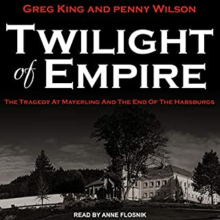 Twilight of Empire audiobook cover art