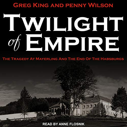 Twilight of Empire audiobook cover art