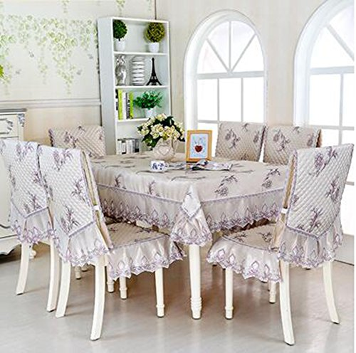 Haut de gamme tissu de table, linge de table, linge de table, rev¨ºtements d'ameublement costume Continental table ¨¤ manger,110*160CM
