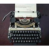 Antigua máquina de Escribir Inglesa mecánica, Metal Máquina De Escribir, Accesorio de decoración - Puede Escribir Normalmente