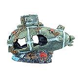 XYZMDJ Decoración del Acuario Tanque de Peces Paisajismo Submarino □ Ornamentos Pescado Refugio Cueva Paisaje Decoración para el hogar Accesorio