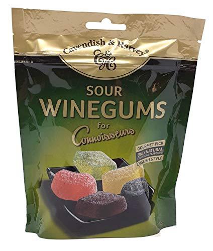 Cavendish and Harvey Sour Winegums 180g