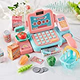 Rikey Lernspielzeug Kasse mit Tonrechner, Scanner für Kleinkinder