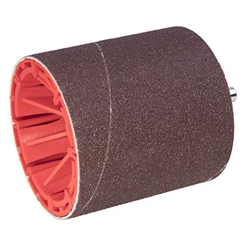 Wolfcraft 2245000 Rouleau de ponçage cylindrique pour perceuse tige 8 mm ø 75 x 80 mm