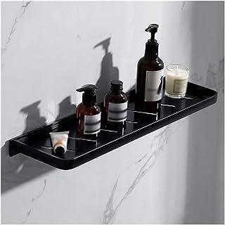 Étagère d'angle Douche Salle de bain étagère noire for douche Panier de rangement Organisateur mural étagères d'angle Baig...