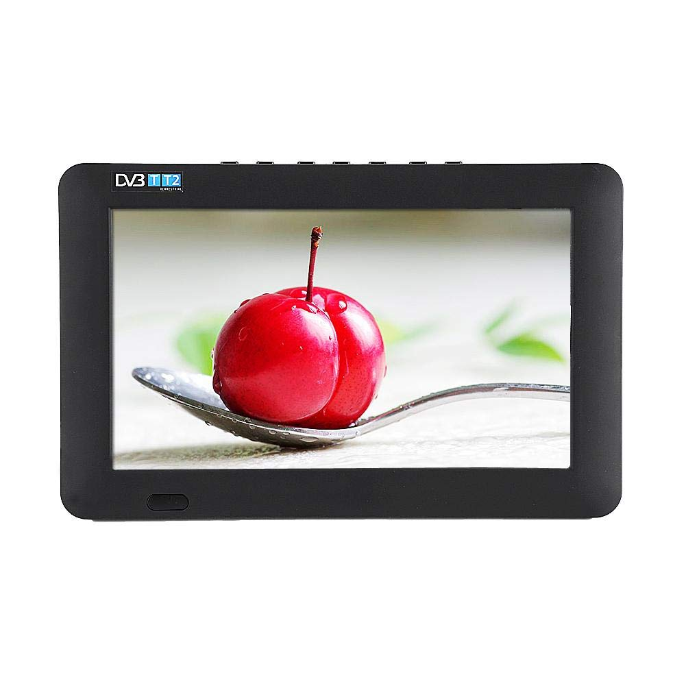 Richer-R Mini Televisor Portátil Delgado,9 Inch TV LED TFT, Televisión Digital con Control Remoto: Amazon.es: Electrónica