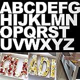 Rolin Roly 26 Pezzi 10 inch Stampini con Lettere, Stampo per Torta Grande per Torta Nuziale, Dolce...