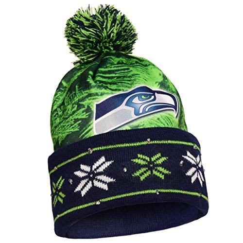NFL Seattle Seahawks Light Up Knit Hat