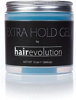 Hairevolution Extra Hold Gel Lightweight, No Flakes 13 Oz