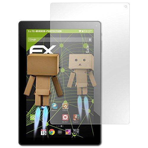 atFolix Bildschirmfolie kompatibel mit Odys Gate Spiegelfolie, Spiegeleffekt FX Schutzfolie