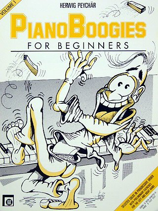 PIANO BOOGIES FOR BEGINNERS 1 - gearrangeerd voor piano [Noten / Sheetmusic] Componist PEYCHAER Herwig