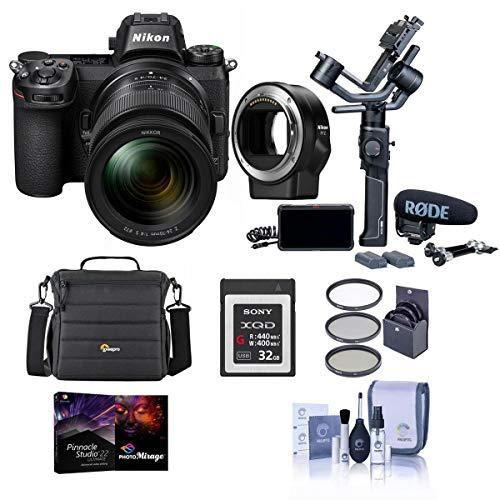 Nikon Z 6 24.5MP FX-Format Mirrorless Camera Filmmaker's Kit with Accessory Bundle
