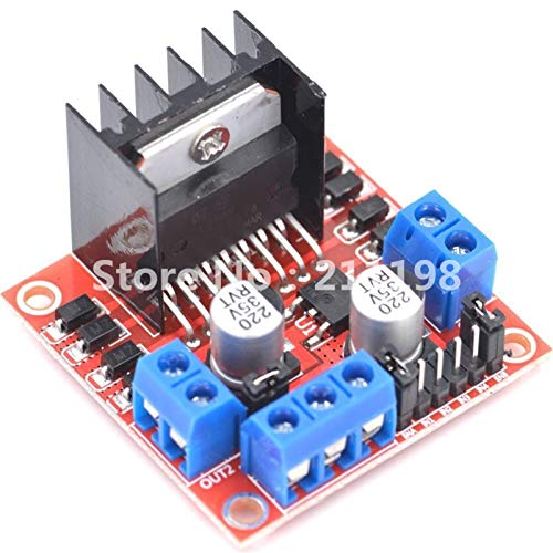 WSCHENG 1Pcs New Dual H Bridge Dc Stepper Motor Drive Controller Board Module L298N For Arduino