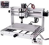 TOPQSC CNC3018pro - Macchina per incisione CNC3018pro Max, fresatrice di circuiti stampati a tre assi, fresatrice per legno di controllo Grbl, con controller di linea