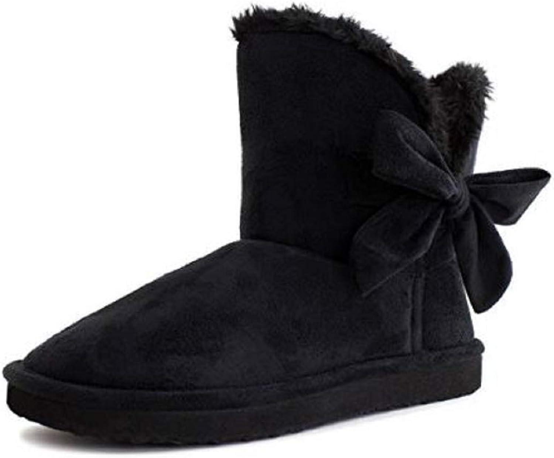 shoes 18 Womens Mini Faux Sheepskin Fur Shearling Boots W Bow 6 colors