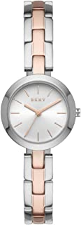 DKNY City Link Women's Silver Dial Stainless Steel Analog Watch - NY2863