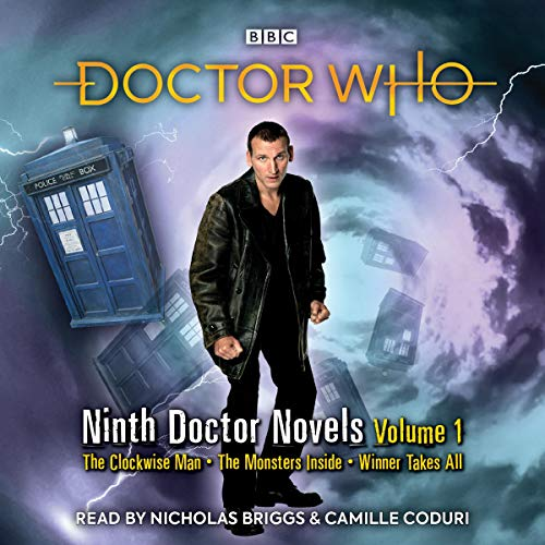 Doctor Who: Ninth Doctor Novels audiobook cover art