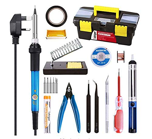 Sale!! LKSDD Soldering Iron Kit,60W Electric Iron Set, Constant Temperature Electric Iron Iron Tempe...